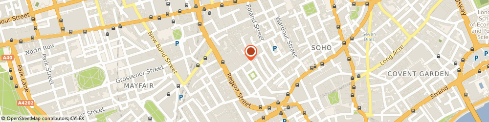 Route/map/directions to triyoga Soho, W1F 9QG London, 1 Carnaby St