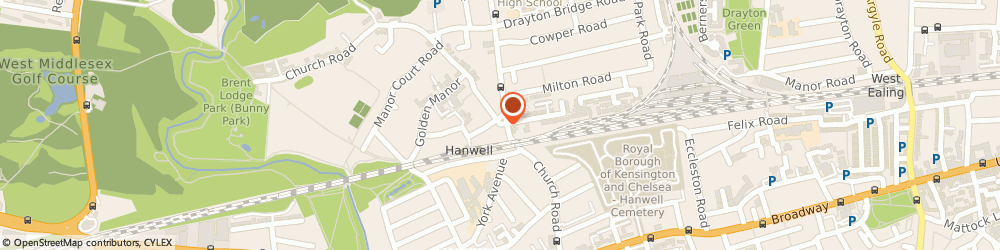 Route/map/directions to Competitive Mortgages & Financial Services Ltd, W7 3BD London, 27 Church Road