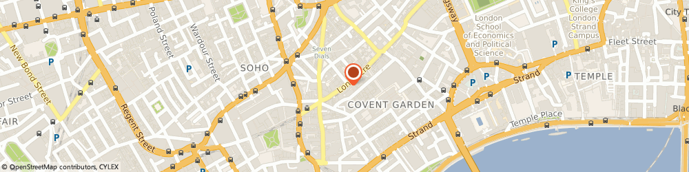 Route/map/directions to Maxima Local Ltd, WC2E 9LY London, 22 Long Acre