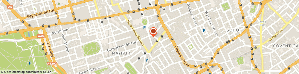 Route/map/directions to Byrne & Burge, W1S 2FD London, 11;St. George Street