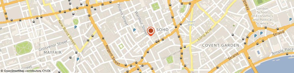 Route/map/directions to Village Soho Cafe Bar, W1D 6QE London, 83-85 Wardour St