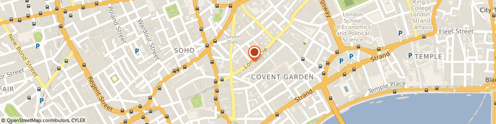 Route/map/directions to Banner Stream Ltd, WC2E 9PE London, 126 Long Acre
