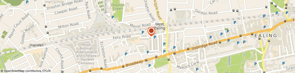 Route/map/directions to A.Q Times & Co. Limited, W13 0NR London, 14 ALEXANDRIA ROAD