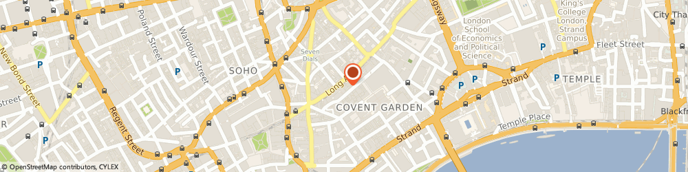 Route/map/directions to Replay, WC2E 9LA London, 32/33 Long Acre
