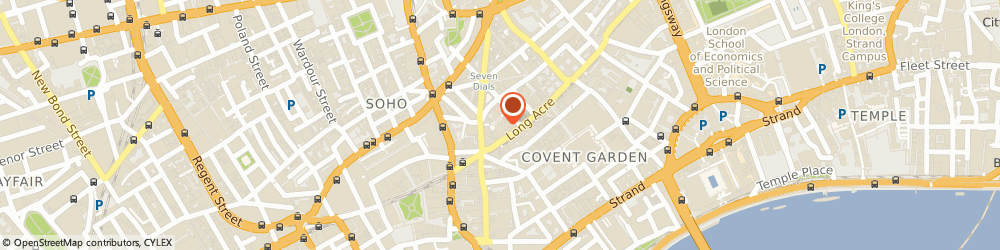 Route/map/directions to Maher B Associates Limited, WC2E 9AB London, ST MARTIN'S COURTYARD, 11 SLINGSBY PLACE