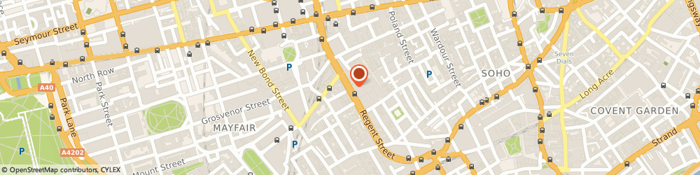 Route/map/directions to BOSS Store, W1B 5TW London, 178-180 Regent Street