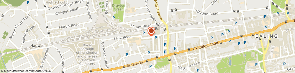 Route/map/directions to Sharmake Trading UK Ltd, W13 0NR London, 14 ALEXANDRIA ROAD
