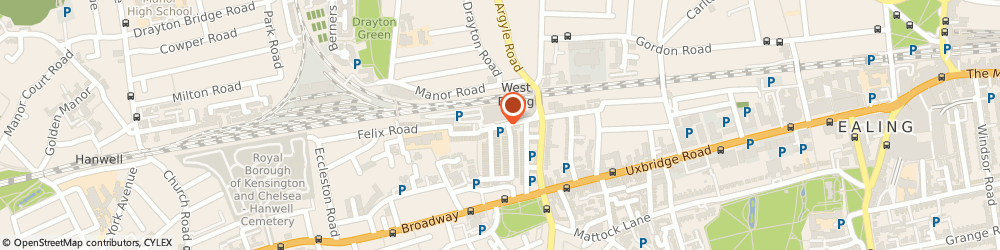 Route/map/directions to Johnson cleaners, W13 0NL London, Alexandria Road