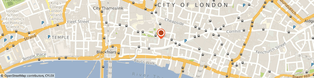 Route/map/directions to Screenvision Holdings (Europe) Limited, EC4M 6YH London, 2-6 CANNON STREET