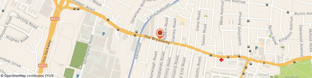 Route/map/directions to PARAMPARA XCLUSIVE LTD, UB1 1LA Southall, 79 The Broadway