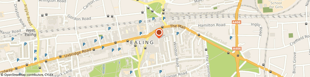 Route/map/directions to Ealing Broadway, W5 5JY Ealing, The Broadway