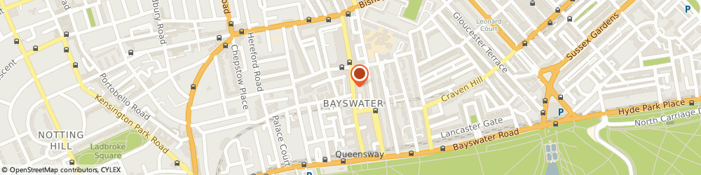 Route/map/directions to Vision Express Opticians - London - Bayswater, W2 4SJ Bayswater, 109 Queensway