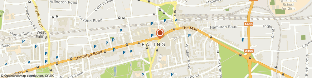 Route/map/directions to Tattoogem, W5 3TA London, 62 The Mall, Ealing Broadway