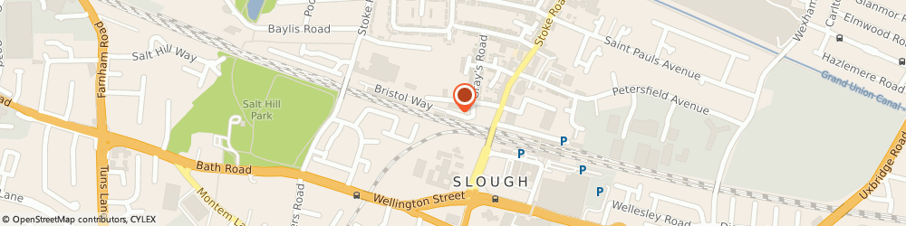 Route/map/directions to iCubes, SL1 3TD Slough, 1 Bristol Way