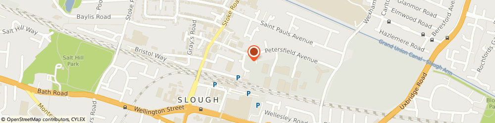Route/map/directions to INBUILT TECH LIMITED, SL2 5DP Slough, Noble Court Mill Street Apart 21