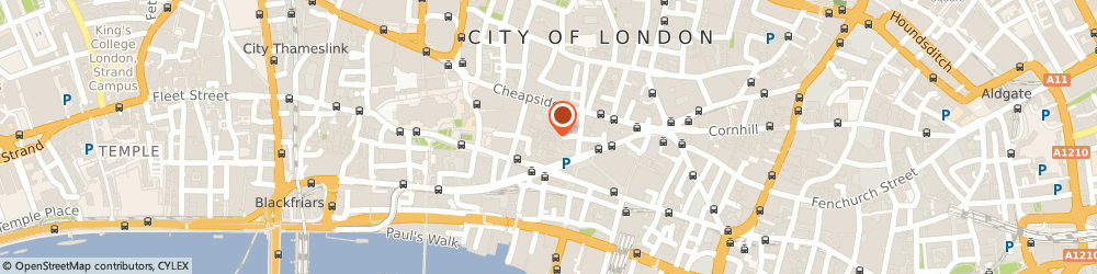 Route/map/directions to Cards Galore-Perfect Presents, EC4M 9AL London, 12-13 Bow Lnae