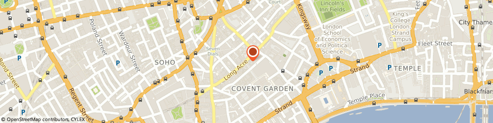 Route/map/directions to Hugo Boss, WC2E 9LN London, 47, LONG ACRE
