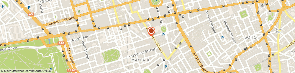 Route/map/directions to Maria Grachvogel, SW3 2ST London, The Townhouse, 18 Culford Gardens, Blacklands Terrace
