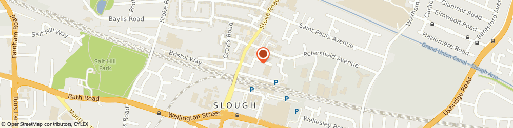 Route/map/directions to Car Leasing Made Simple, SL2 5AF Slough, Automotive House, Grays Place