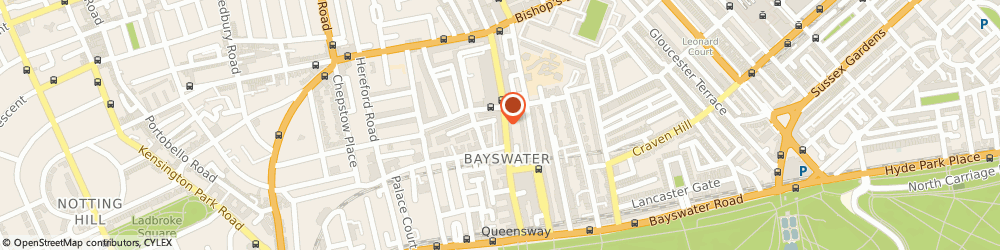 Route/map/directions to Pret A Manger Food, W2 4SJ London, 127 Queensway