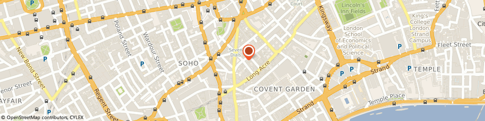 Route/map/directions to I4 Group Uk Limited, WC2H 0DE London, 71-75 Shelton Street, Covent Garden