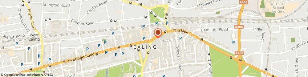Route/map/directions to Clintons, W5 5JY London, 48 Broadwaycentre