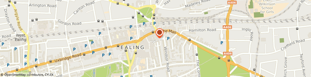 Route/map/directions to Patisserie Valerie - Ealing, W5 3SS London, Oak Rd