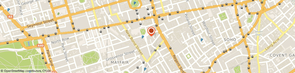 Route/map/directions to Brides Magazine, W1S 1JU London, 1-2 Hanover Square, Mayfair