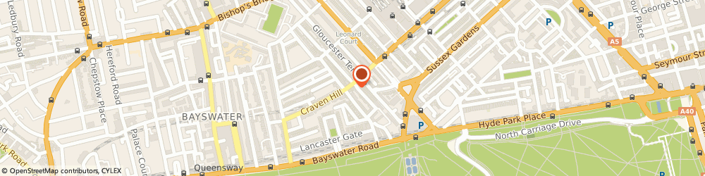 Route/map/directions to UPS Solutions Logistics, W2 3BX London, Craven Road, 43