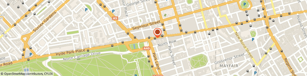 Route/map/directions to Young's Hire, W1C 1JG London, 334-348 Oxford St, Marylebone
