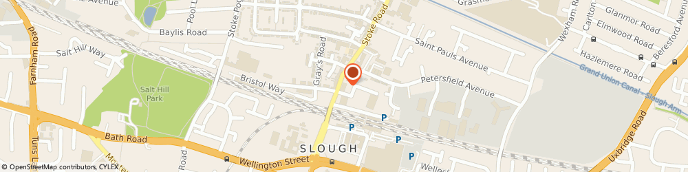 Route/map/directions to OOGU Ltd, SL2 5AG Slough, 18-24 Stoke Rd, Abbey House