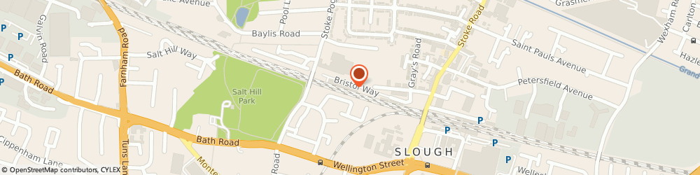 Route/map/directions to Cailbar Contracts, SL1 3TD Slough, Unit 6, Slough Business