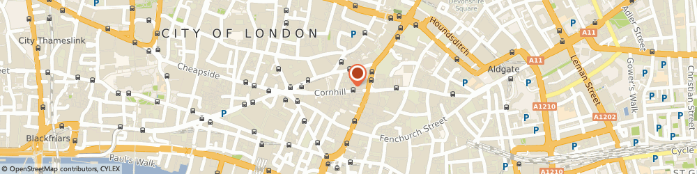 Route/map/directions to The Golf Shop, EC3V 3QQ London, 73 Cornhill