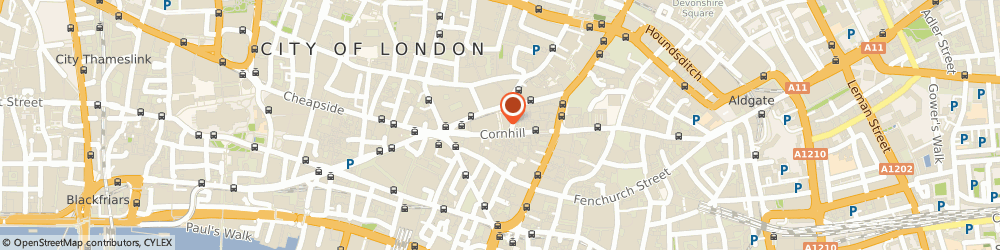 Route/map/directions to Smythson, EC3V 3LL London, 7 Royal Exchange Buildings