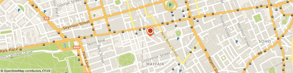 Route/map/directions to Realty Insurances Ltd, W1K 5JF London, 58 Davies Street