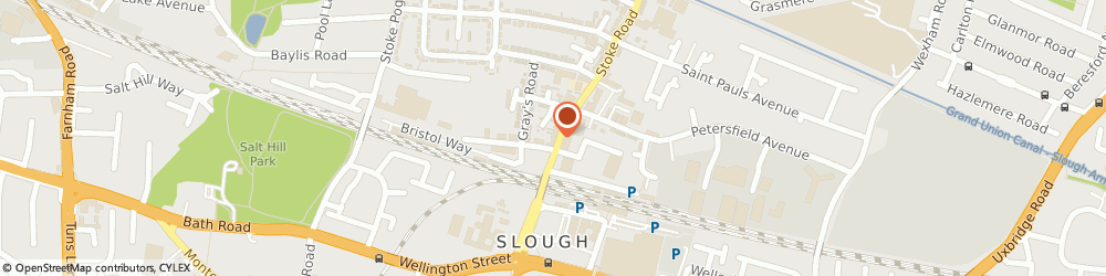 Route/map/directions to A.a Kelly Radio Taxis, SL2 5AH Slough, 21, Stoke Rd