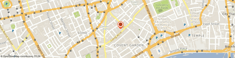 Route/map/directions to The Tea House, WC2H 9PU London, 15 Neal St