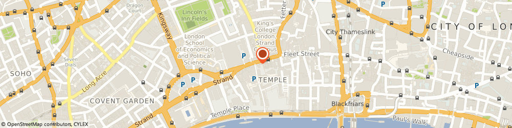Route/map/directions to LEXVISA Immigration Lawyers, EC4Y 9AA London, 2 Middle Temple Lane