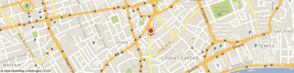 Route/map/directions to Little Book Of Furniture Ltd, WC2H 9LL London, 20 Earlham Street