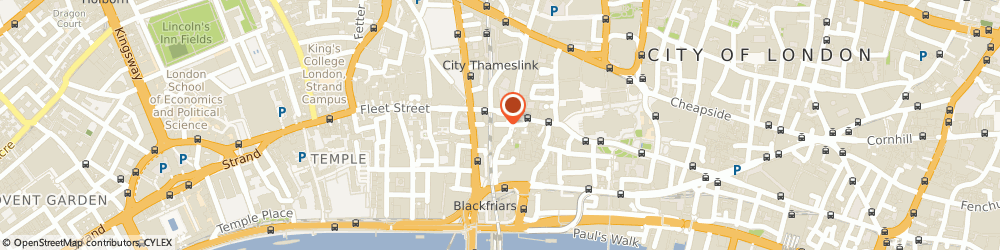 Route/map/directions to Bechtel Limited, EC4V 6RN London, 11 Pilgrim St