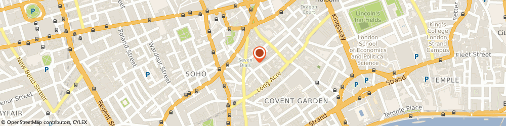 Route/map/directions to 36 Earlham Street, Covent Garden, WC2H 9LH London, 36 Earlham St