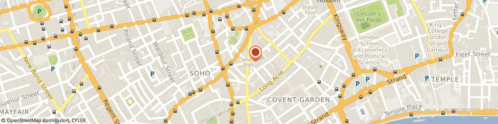 Route/map/directions to Hope & Glory (Clothing) Ltd, WC2H 9LD London, Earlham Street