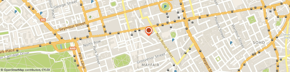 Route/map/directions to Boudi, W1K 5QU London, 18 S Molton St