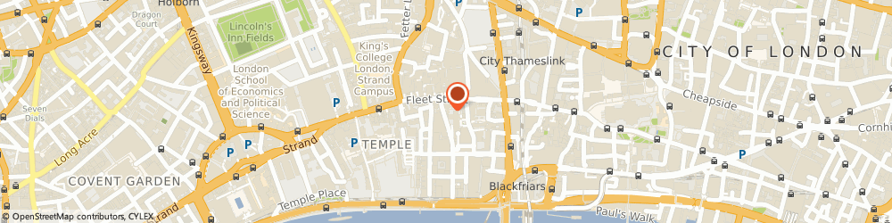 Route/map/directions to Six Physio Fleet St, EC4Y 8BQ London, 36 Whitefriars St