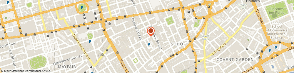 Route/map/directions to Realinvest Limited, W1F 8HT London, 20 Broadwick Street