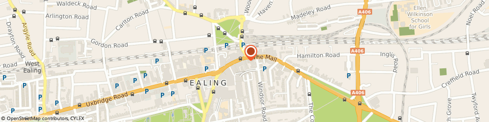 Route/map/directions to Lloyds Bank, W5 5JU Ealing, 44-45 The Broadway