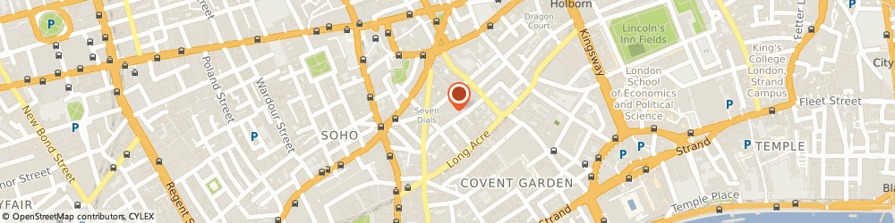 Route/map/directions to 40 Earlham Street Ltd., WC2H 9LH London, EARLHAM STREET