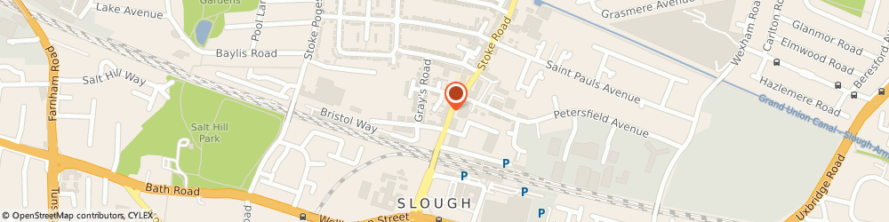 Route/map/directions to R P R Logistics, SL2 5AH Slough, 29, Stoke Rd