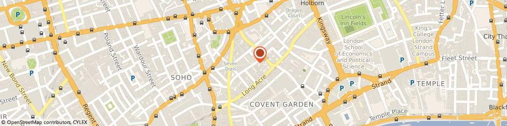 Route/map/directions to Great Night, WC2H 9JQ London, Shelton Street, Covent Garden
