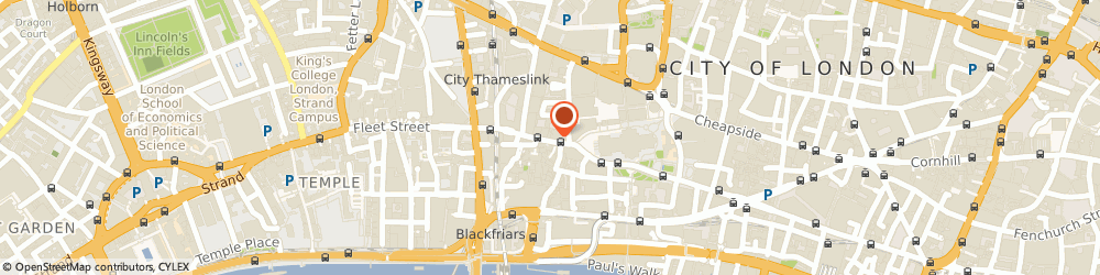 Route/map/directions to Souters, EC4M 7DR London, The Training Centre;30-32 Ludgat;E Hill